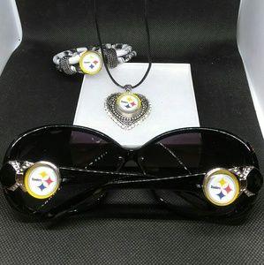 Accessories - Pittsburgh Steelers Sunglasses Set